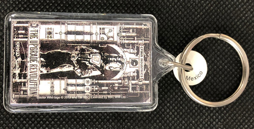 Doctor Who: CYBERMEN - Lucite Keyring Keychain by Culturenik