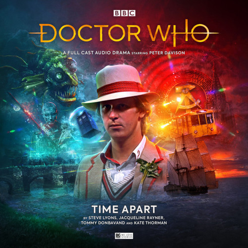 Doctor Who: TIME APART - Big Finish 5th Doctor Audio CD #266
