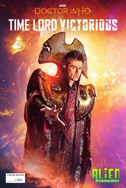 Doctor Who - TIME LORD VICTORIOUS Issue #1 - Alien Entertainment Exclusive Comic Book Limited Edition of only 250