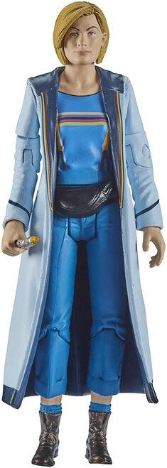 DOCTOR WHO: Thirteenth Doctor (Blue Top and Fanny Pack) (Jodie Whittaker) - Series 11 Action Figure - Character Options
