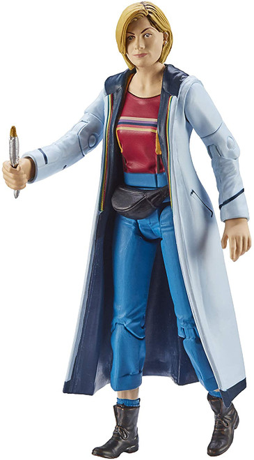 DOCTOR WHO: Thirteenth Doctor (Red Top and Fanny Pack) (Jodie Whittaker) - Series 11 Action Figure - Character Options