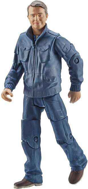 DOCTOR WHO: GRAHAM O'BRIEN  (Thirteenth Doctor Companion) - Series 11 Action Figure - Character Options