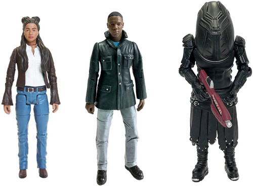 DOCTOR WHO: Friends & Foe of the Doctor (YAZ - RYAN - JUDOON TROOPER) - Series 11 Action Figure - Character Options