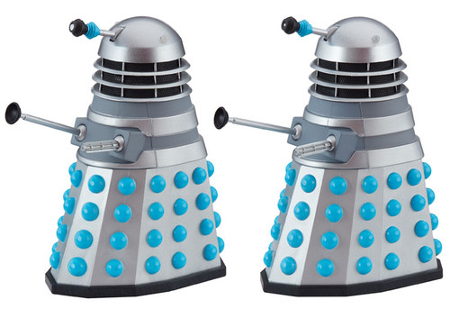 DOCTOR WHO: HISTORY OF THE DALEKS #1 - 'THE DALEKS' Starring William Hartnell - Action Figure Set of 2 - Classic Series - Character Options