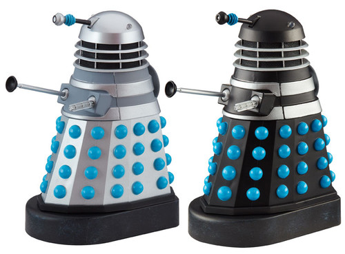 DOCTOR WHO: HISTORY OF THE DALEKS #2 - 'DALEK INVASION EARTH' Starring William Hartnell - Action Figure Set of 2 - Classic Series - Character Options
