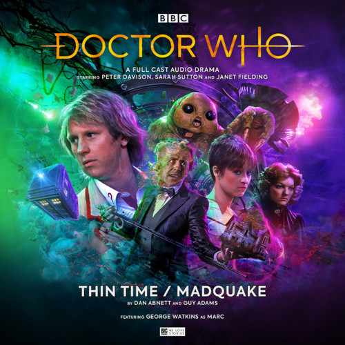 Doctor Who: THIN TINE / MADQUAKE - Big Finish 5th Doctor Audio CD #267