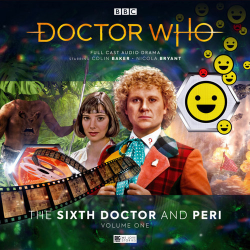 Doctor Who: SIXTH DOCTOR & PERI Volume #1 - Starring Colin Baker and Nicola Bryant - Audio Drama Boxed Set  from Big Finish