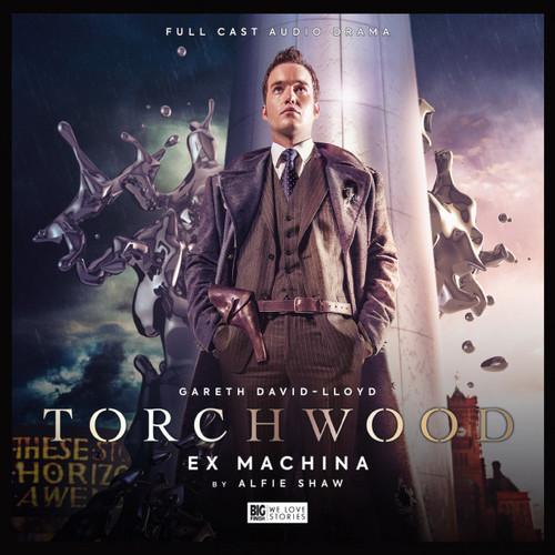 Torchwood #42: EX MACHINA- Big Finish Audio CD (Starring Gareth David-Lloyd)