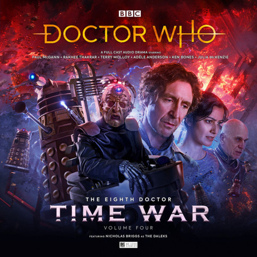 Doctor Who: The TIME WAR 4 - Eighth Doctor (Paul McGann) Big Finish Box Set
