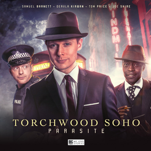 Torchwood: TORCHWOOD SOHO - PARASITE - A Big Finish Special Audio 3 CD Set (Starring Samuel Barnett & Tom Price)