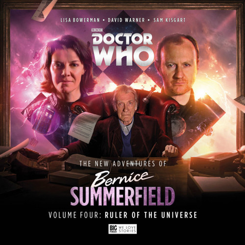 Bernice Summerfield: New Adventures Volume 4 - RULER OF THE UNIVERSE - Big Finish Audio Box Set