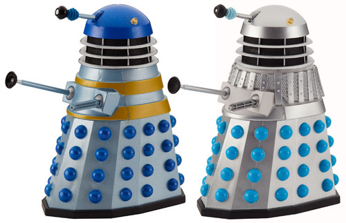 DOCTOR WHO: HISTORY OF THE DALEKS #3 - 'THE CHASE' Starring William Hartnell - Action Figure Set of 2 - Classic Series - Character Options