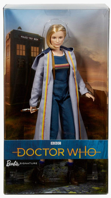 DOCTOR WHO: BARBIE THIRTEENTH DOCTOR (Jodie Whittaker) Signature Edition with Sonic Screwdriver (Last One)