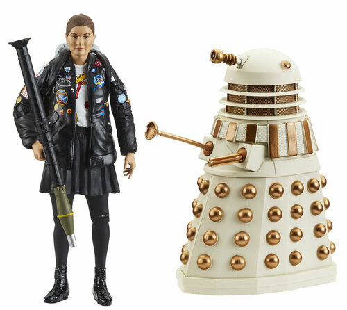 "DOCTOR WHO: COAL HILL SCHOOL Collectors Set from ""Remembrance of the Dalek"" - Action Figures - Character Options"
