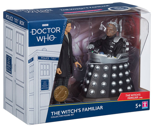 DOCTOR WHO: The WITCH'S FAMILIAR Collectors Set - Action Figures (12th Doctor & Davros) - Character Options