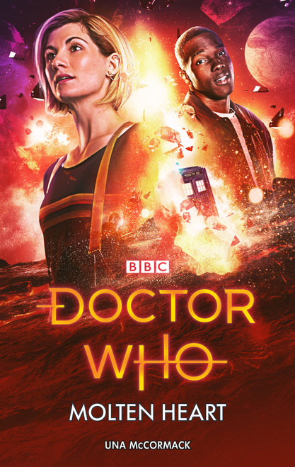 Doctor Who New Series Hardcover - MOLTEN HEART - 13th Doctor (Jodie Whittaker) - BBC Series Book