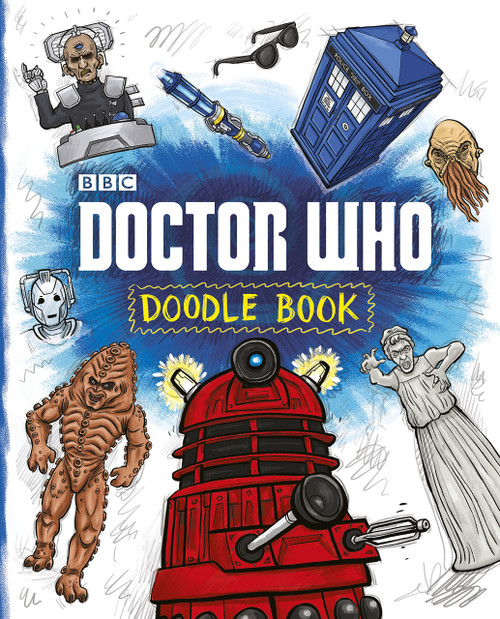 Doctor Who: DOODLE BOOK by Dan Green - A Penguin UK Paperback Book