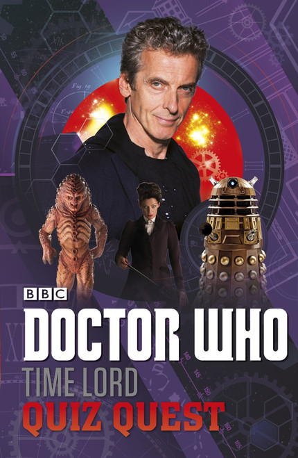Doctor Who TIME LORD QUIZ QUEST - BBC Paperback Book by Jonathan Green