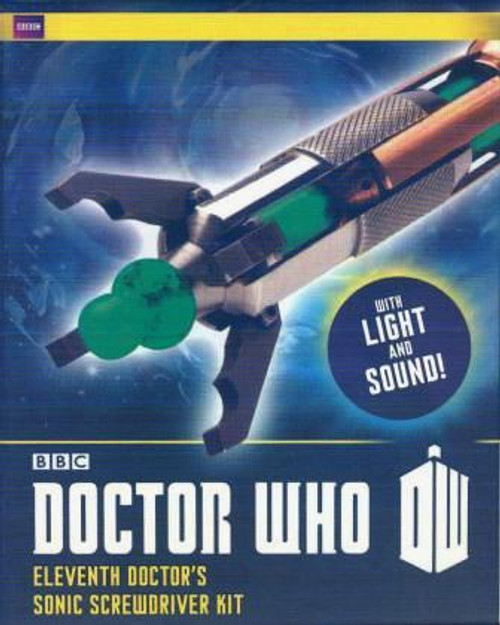 Doctor Who: ELEVENTH DOCTOR'S SONIC SCREWDRIVER KIT from Running Press