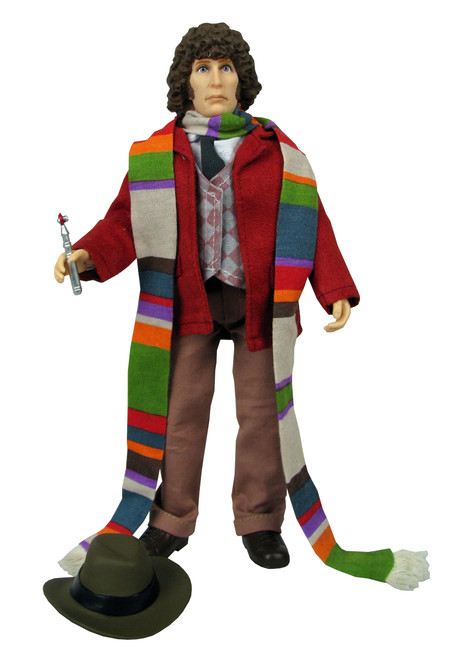 "Doctor Who: Retro 1970's MEGO Style 8"" Figure - 4th DOCTOR (Tom Baker) - from Bif Bang Pow"