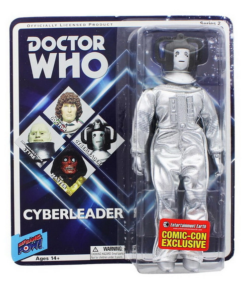 """Doctor Who: Retro 1970's MEGO Style 8"""" Figure - CYBER-LEADER (Revenge of the Cybermen) - from Bif Bang Pow"""