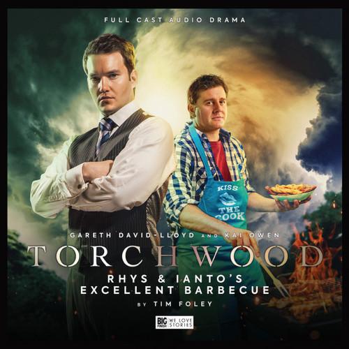 Torchwood #44: RHYS and IANTO'S EXCELLENT BARBECUE - Big Finish Audio CD (Starring  Gareth David-Lloyd & Kai Owen)