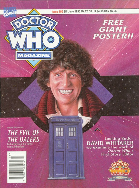 Doctor Who Magazine Issue #200 - Free Giant Poster