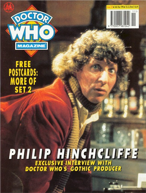 Doctor Who Magazine Issue #210 - Philip Hinchcliffe Interview