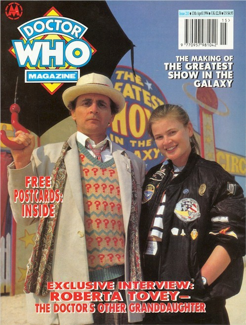 Doctor Who Magazine Issue #211 - Greatest Show In The Galaxy