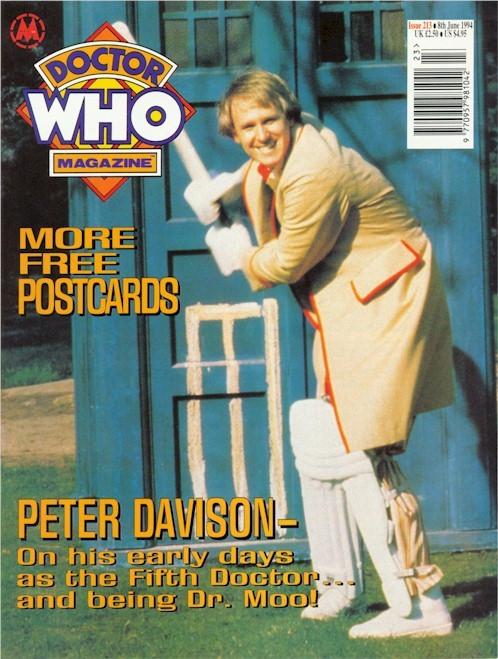 Doctor Who Magazine Issue #213 - Peter Davison