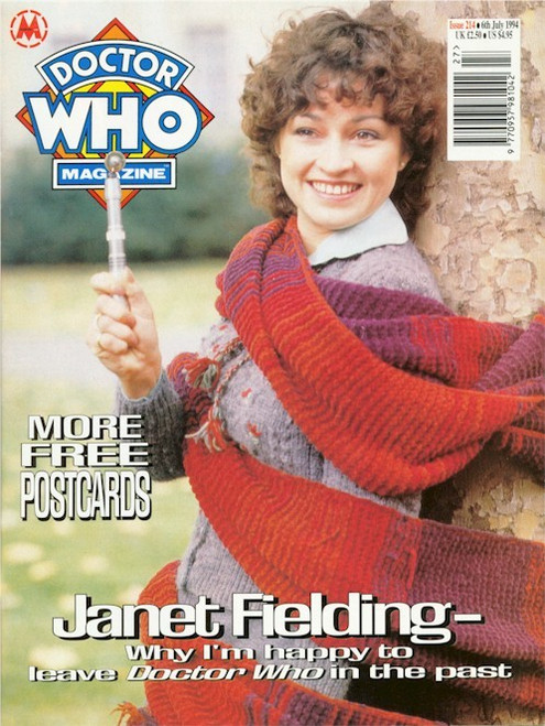 Doctor Who Magazine Issue #214 - Janet Fielding Interview