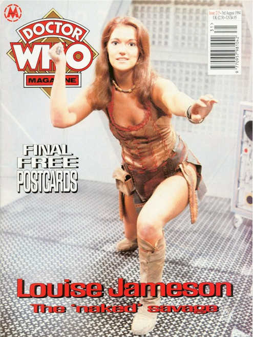 Doctor Who Magazine Issue #215 - Louise Jameson Interview