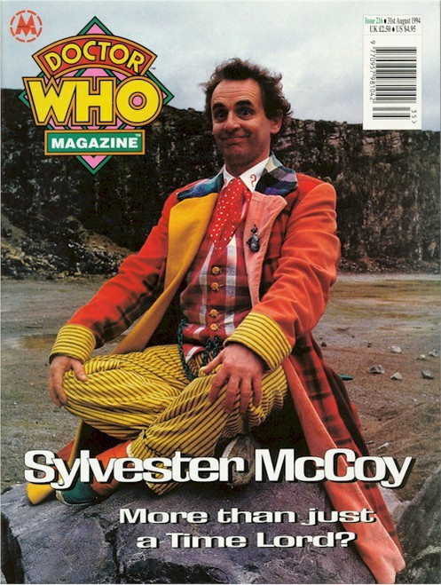 Doctor Who Magazine Issue #216 - Sylvester McCoy