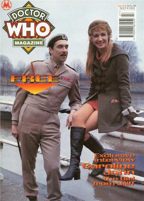 Doctor Who Magazine Issue #219 - Caroline John Interview
