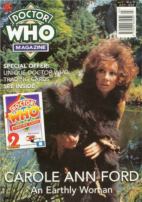 Doctor Who Magazine Issue #221 - Carol Ann Ford