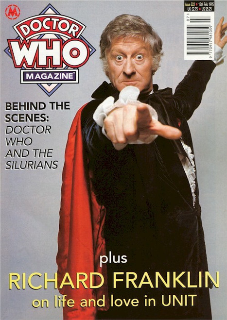 Doctor Who Magazine Issue #222 - Richard Franklin on UNIT