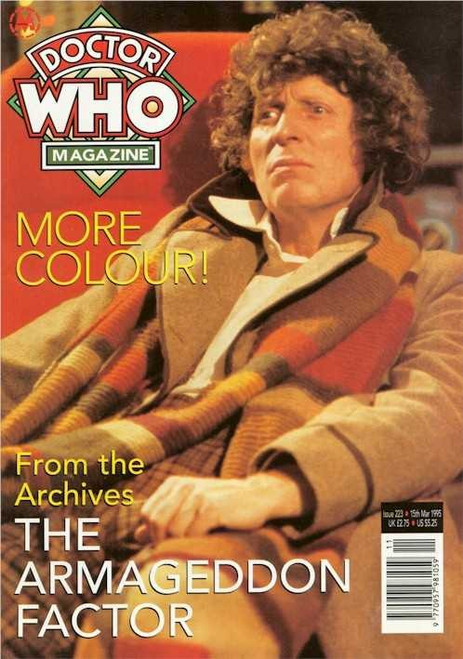 Doctor Who Magazine Issue #223 - The Armegeddon Factor (Tom Baker)