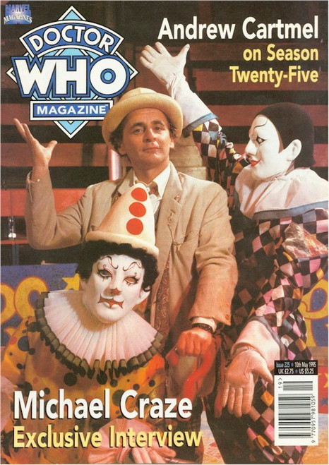 Doctor Who Magazine Issue #225 - Michael Craze Interview