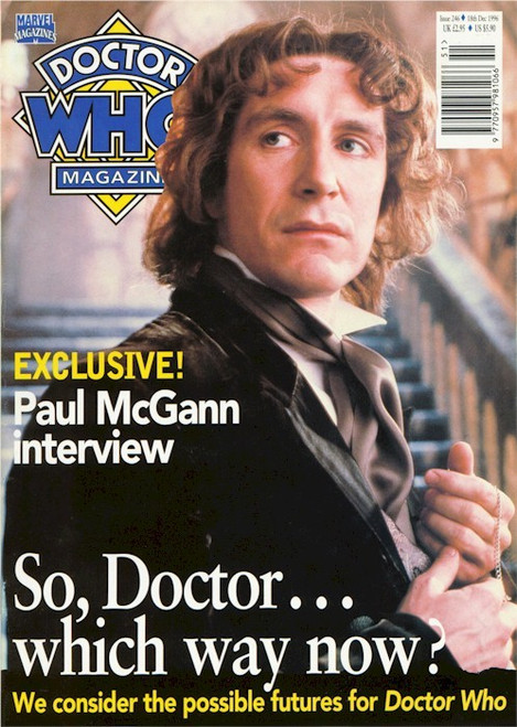 Doctor Who Magazine Issue #246 - Paul McGann Interview
