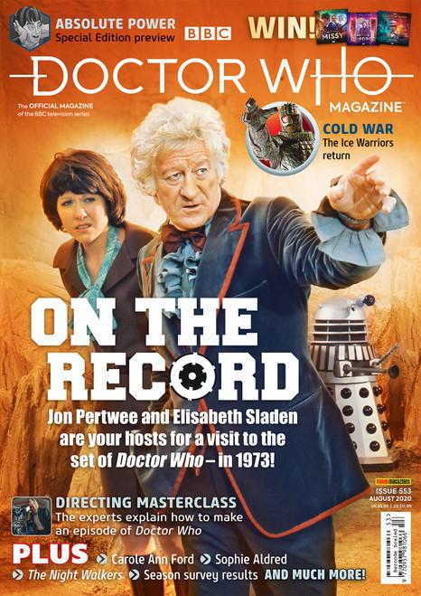 Doctor Who Magazine #553 - JON PERTWEE & ELIZABETH SLADEN