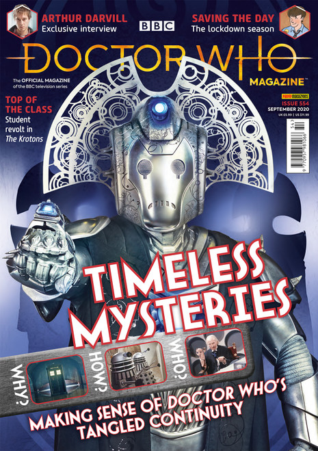 Doctor Who Magazine #554 - Controversial Continuity!