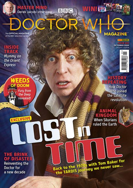Doctor Who Magazine #555 - TOM BAKER