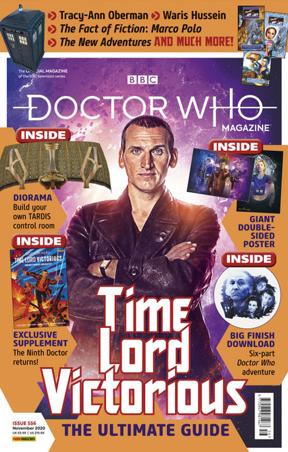Doctor Who Magazine #556 - TIME LORD VICTORIOUS BEGINS  (Deluxe Issue)
