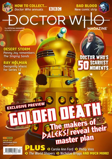Doctor Who Magazine #557 -  NEW DALEKS ANNIMATED SERIES