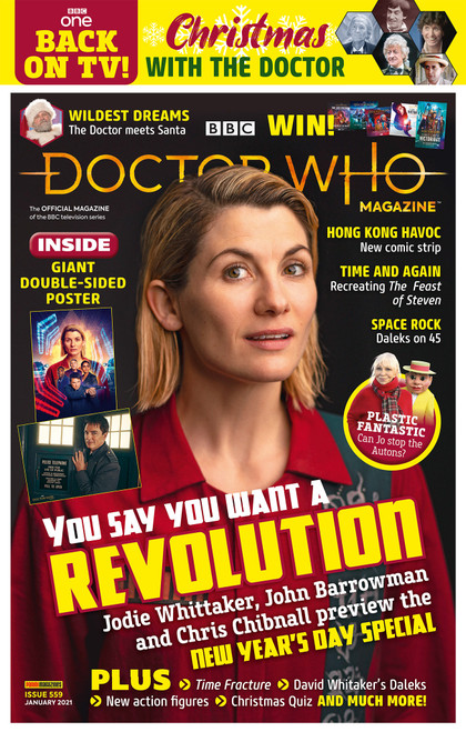 Doctor Who Magazine #559 -  REVOLUTION OF THE DALEKS (Poly Bagged Issue)