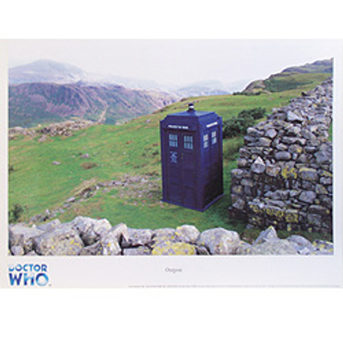 Copy of Doctor Who TARDIS Art Scene Print #2 of 12: UK Exclusive Print - OUTPOST
