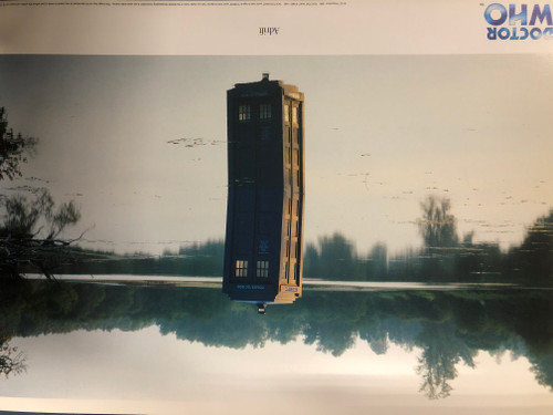 Doctor Who TARDIS Art Scene Print #3 of 12: UK Exclusive Print - ADRIFT