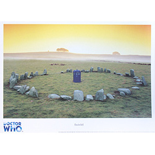 Doctor Who TARDIS Art Scene Print #4 of 12: UK Exclusive Print - ENCIRCLED