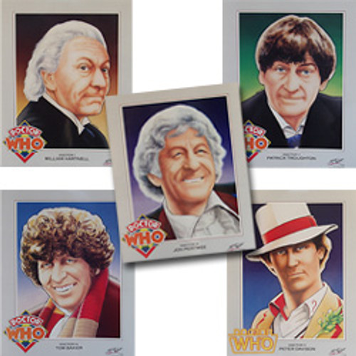 Doctor Who: 5 DOCTORS - Vintage Spirit of Light Poster Set of 5 from 1983