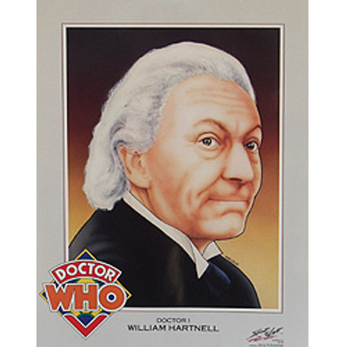 Doctor Who: 1st Doctor (William Hartnell) - Vintage Spirit of Light Mini Poster from 1983